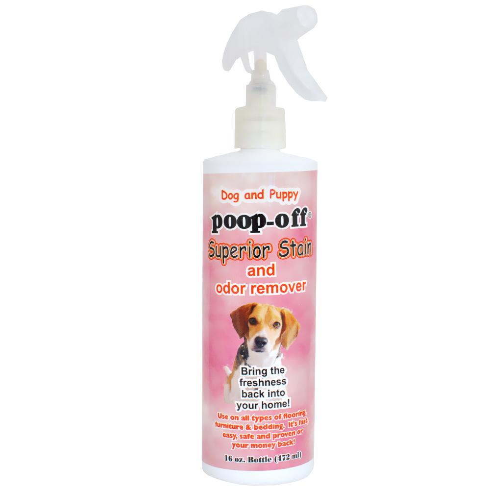 Dog & Puppy Poop-Off Superior Stain & Odor Remover (16 fl oz)