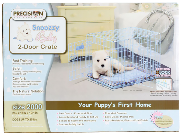 PRECISION-BLUE-SNOOZZY-BABY-CRATE-2000