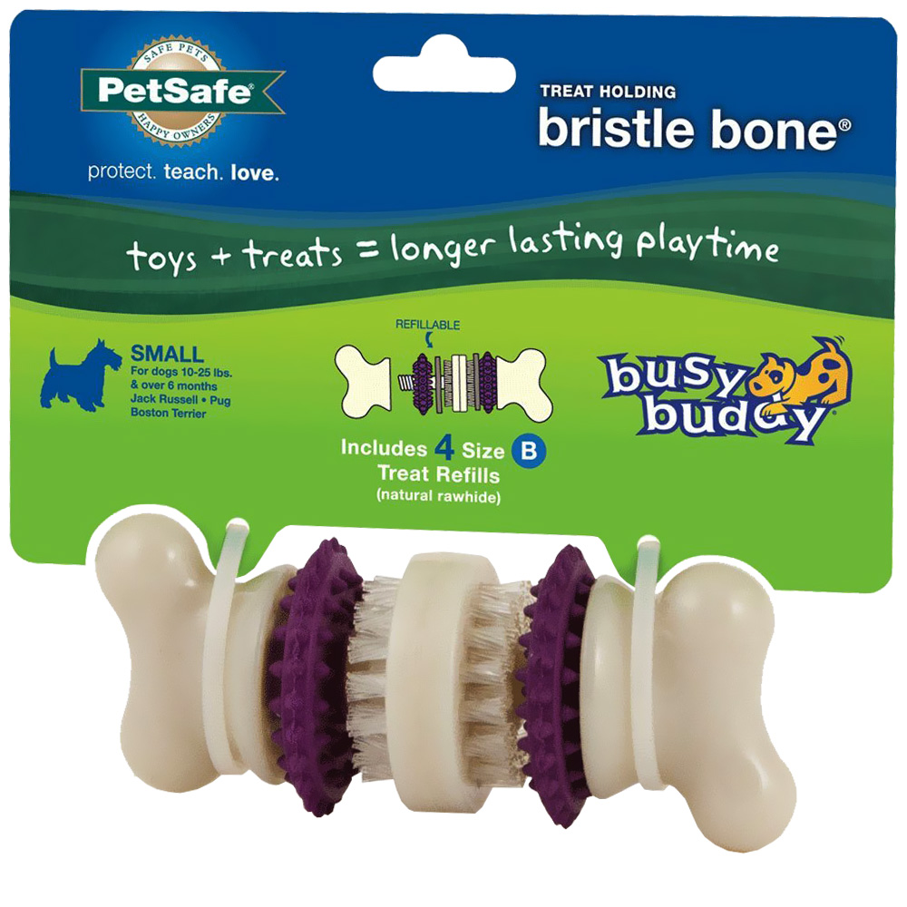 Image of Busy Buddy Bristle Bone - Small
