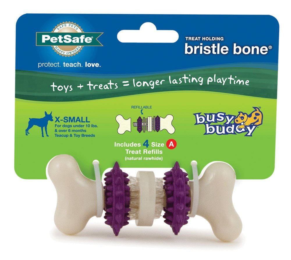 Image of Busy Buddy Bristle Bone - X-Small