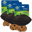 Premier Busy Buddy Rubber Football - Extreme Black