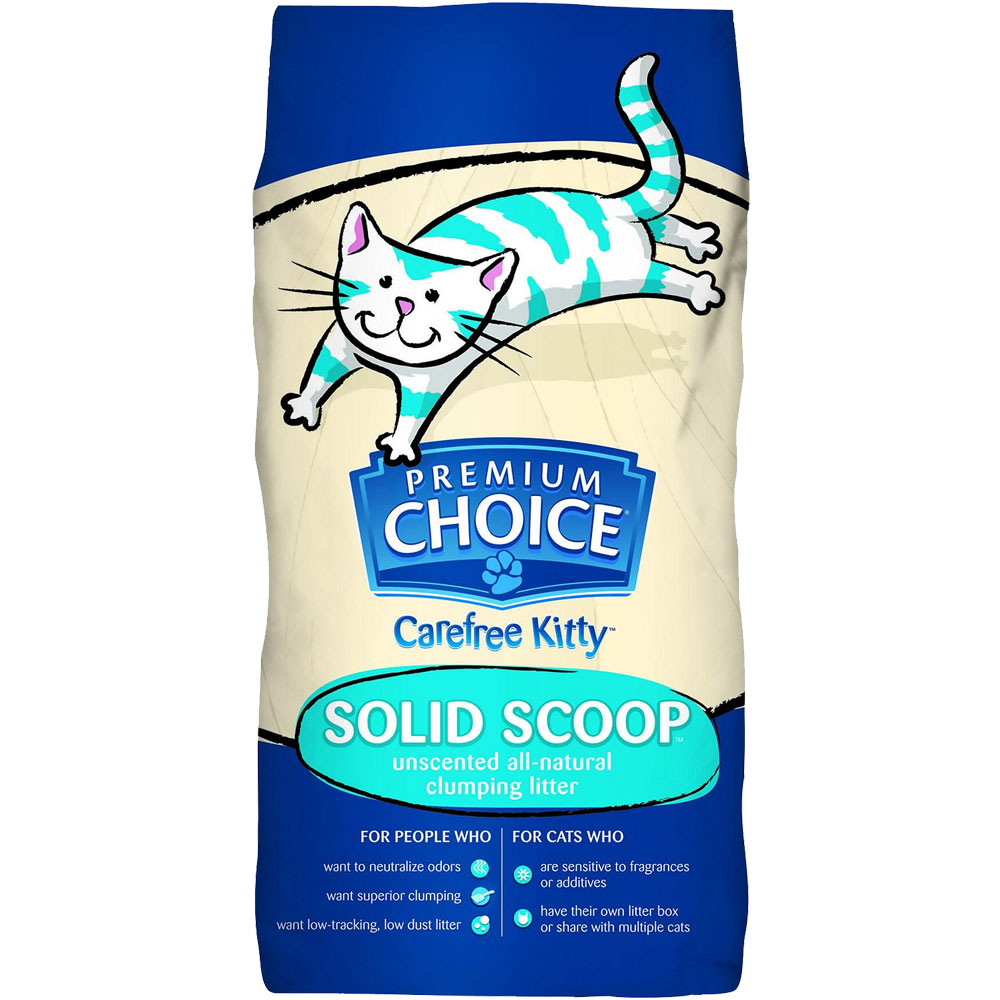 PREMIUM-CHOICE-SOLID-SCOOP-CLUMPING-CAT-LITTER-25LB
