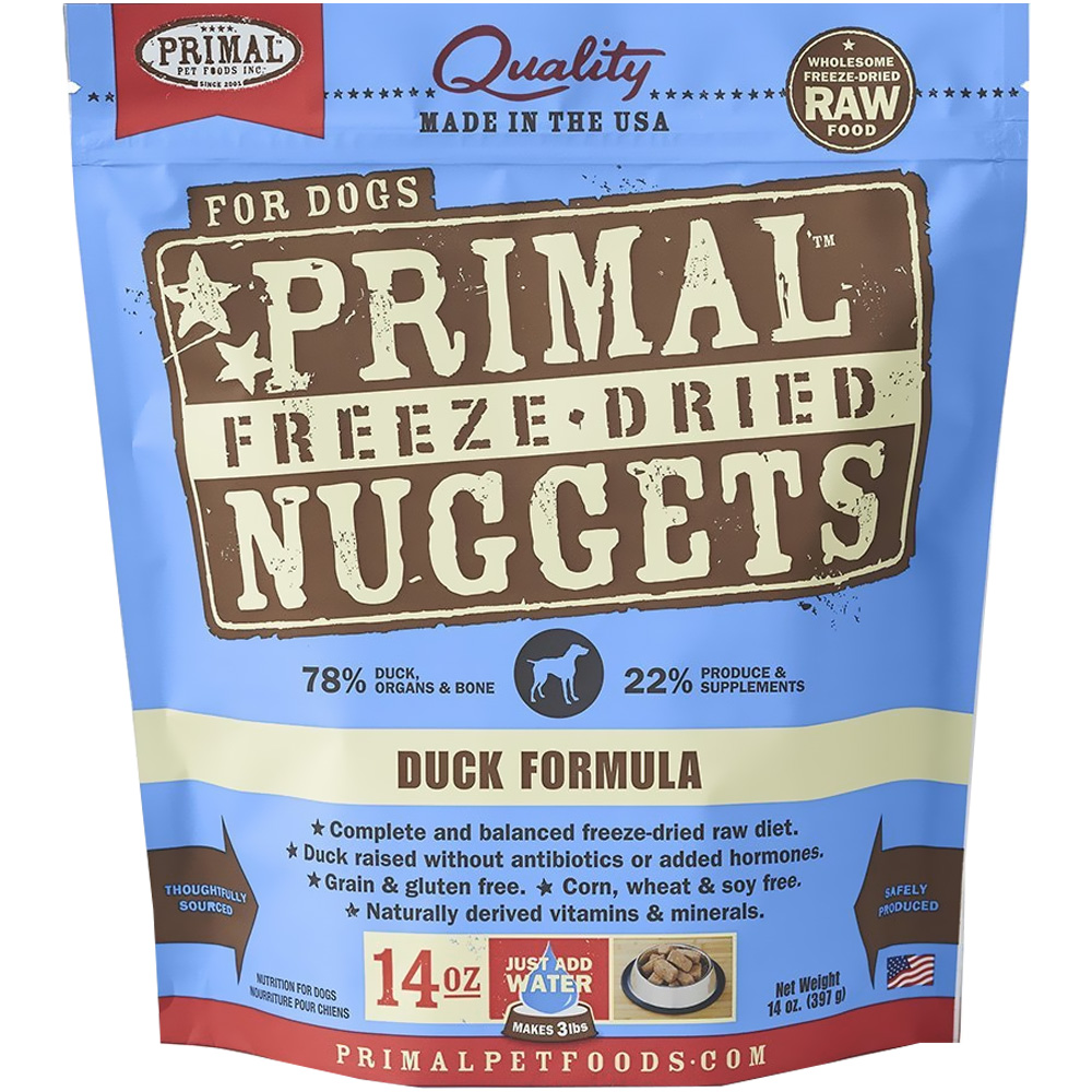 PRIMAL-FREEZE-DRIED-DUCK-DOG-FOOD-14-OZ