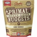 Primal Freeze Dried Lamb Dog Food (5.5 oz)