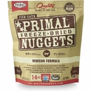 Primal Freeze Dried Nuggets for Cats - Venison Formula (14 oz)