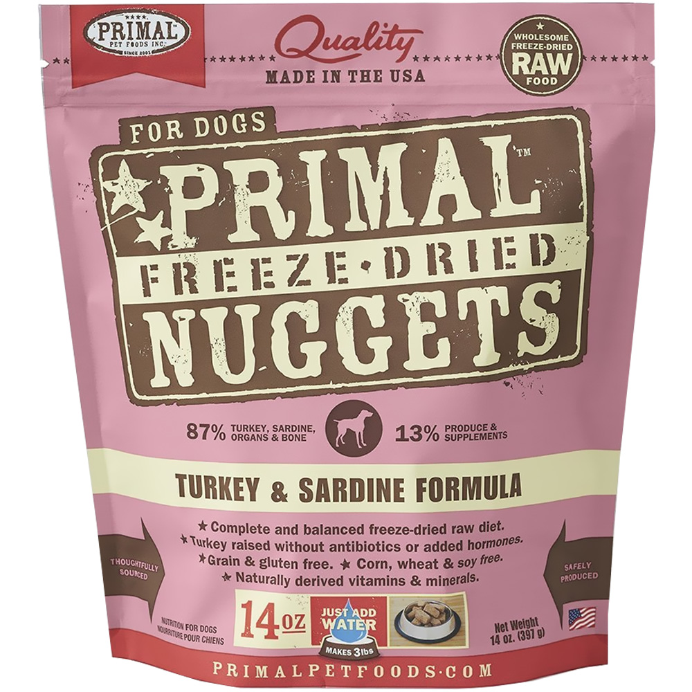 PRIMAL-FREEZE-DRIED-TURKEY-SARDINE-DOG-FOOD-14-OZ