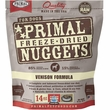 Primal Freeze Dried Venison Dog Food (14 oz)