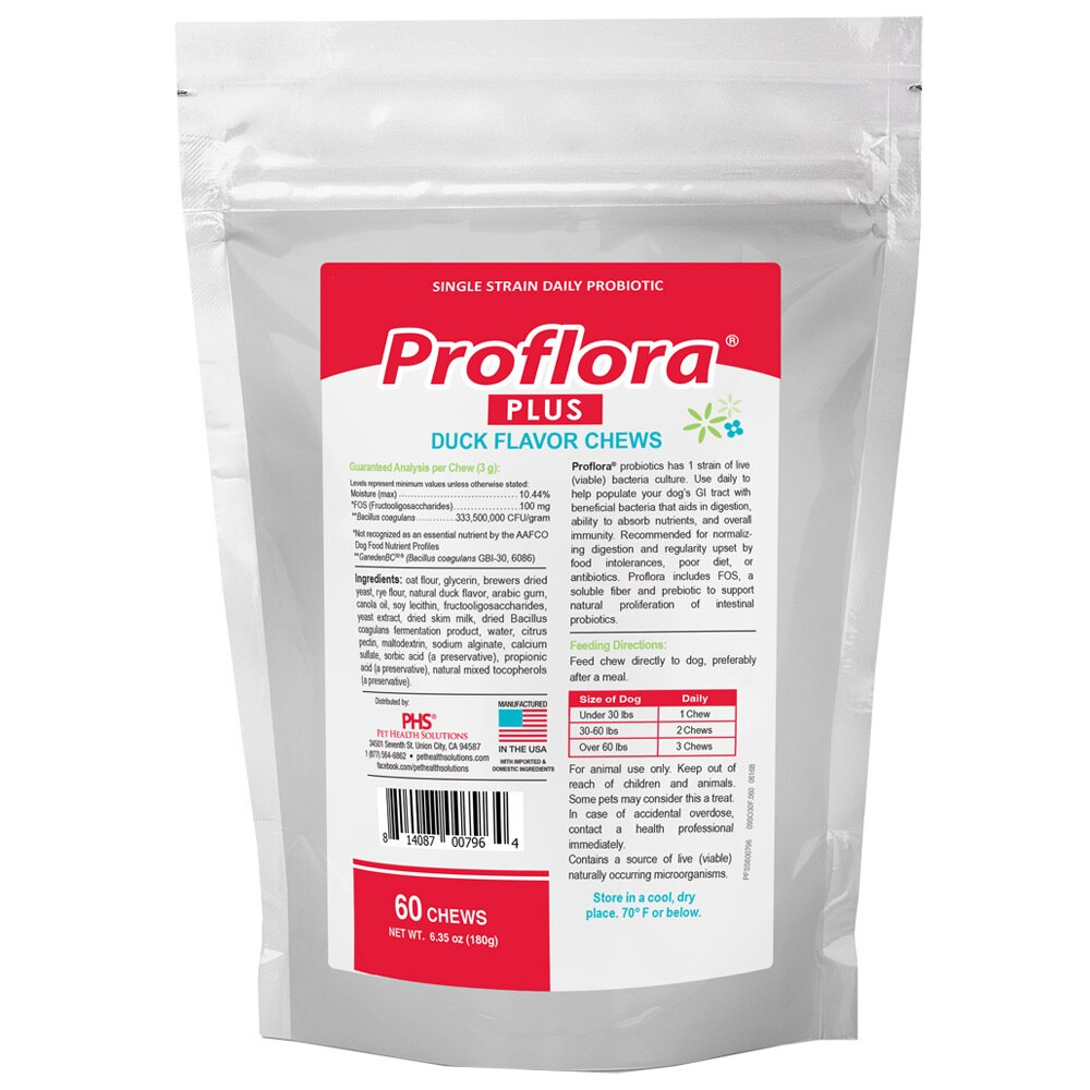 Proflora Plus Probiotic Soft Chews (60 Count)