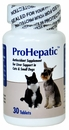 ProHepatic Liver Support Supplement for Cats & Small Dogs (30 Tablets)