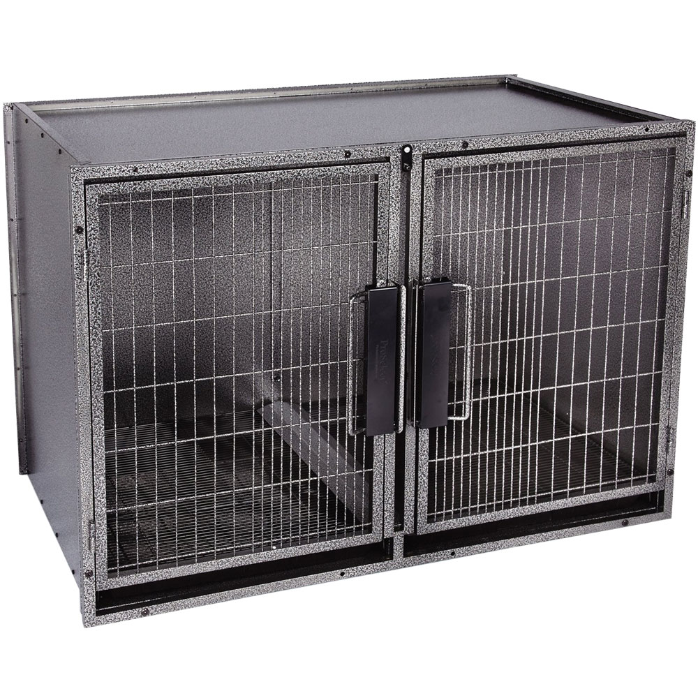Proselect Modular Kennel Cage Gray Large