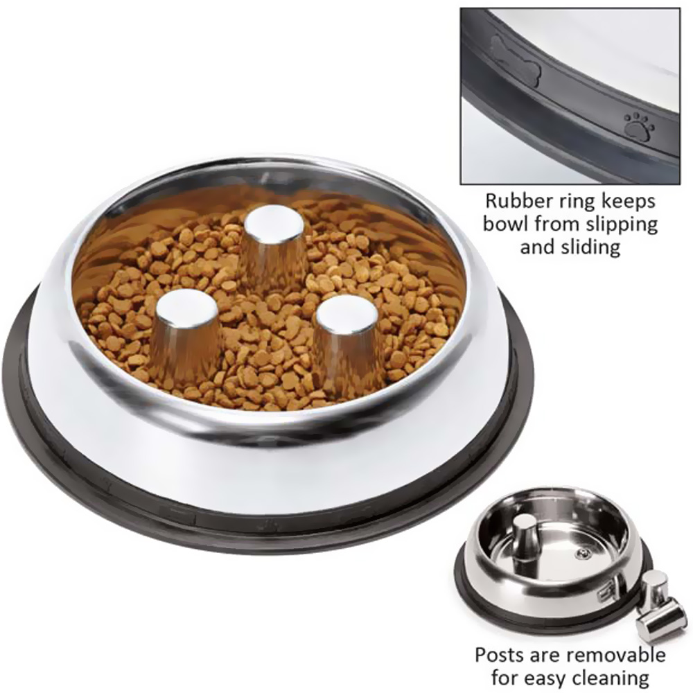 PROSELECT-STAINLESS-STEEL-SLOW-FEED-BOWL-12-OZ
