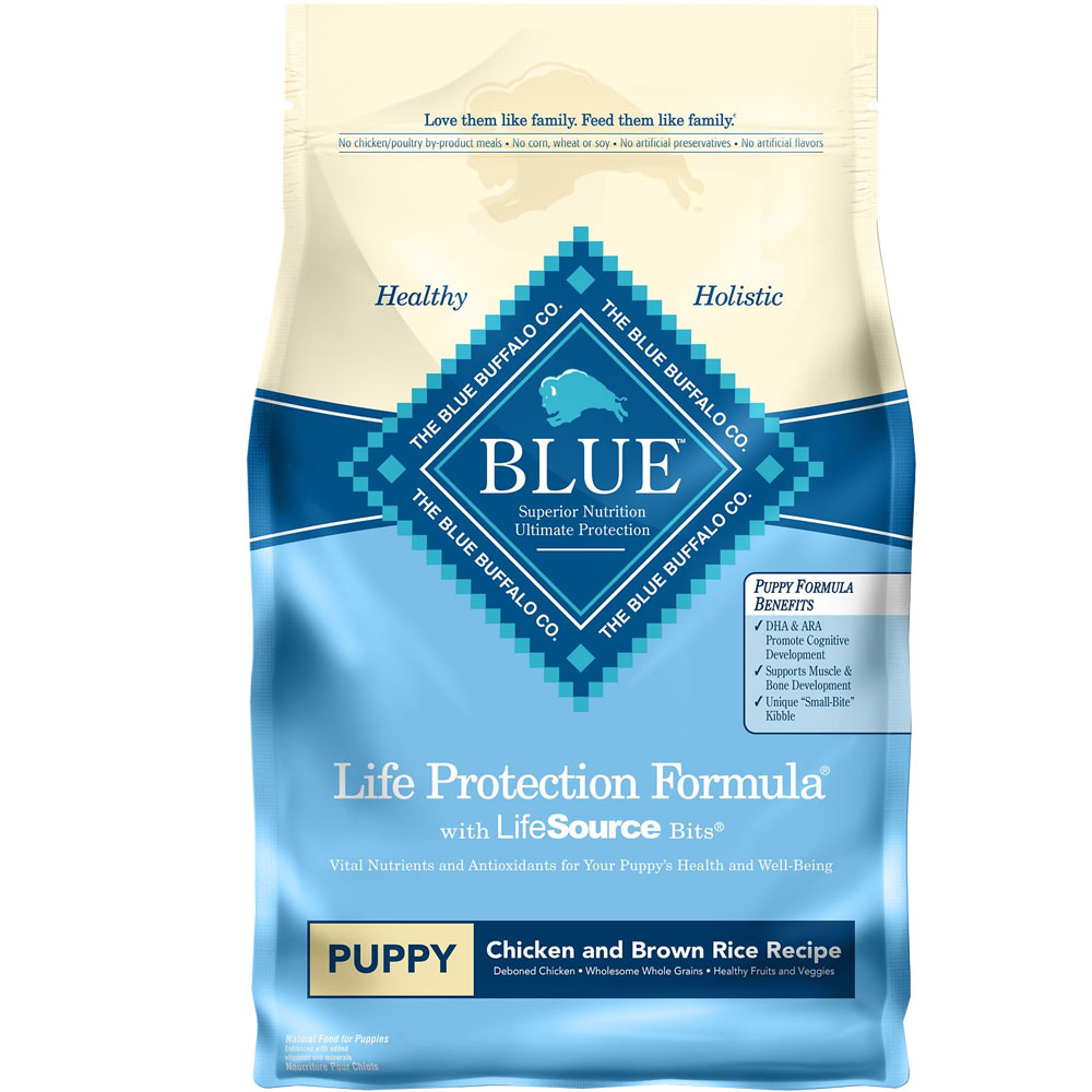 Blue Buffalo Life Protection Puppy - Chicken & Brown Rice (6 lb) im test