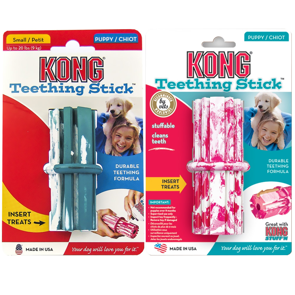 Puppy KONG Puppy Teething Stick - SMALL 2-9 Months im test