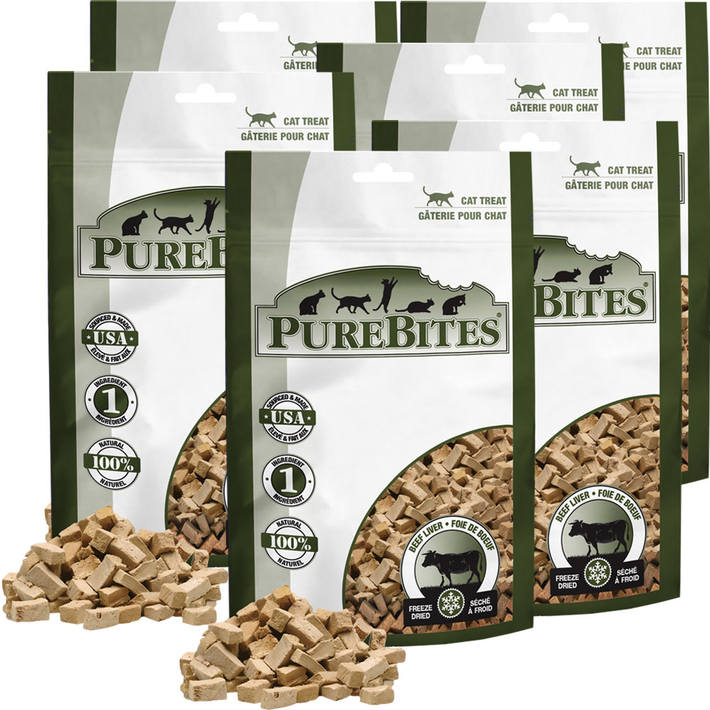 Purebites Beef Liver Cat Treat - 6-Pack (5 oz) im test