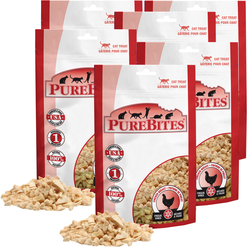 Purebites Chicken Breast Cat Treat - 6-Pack (3.60 oz) im test