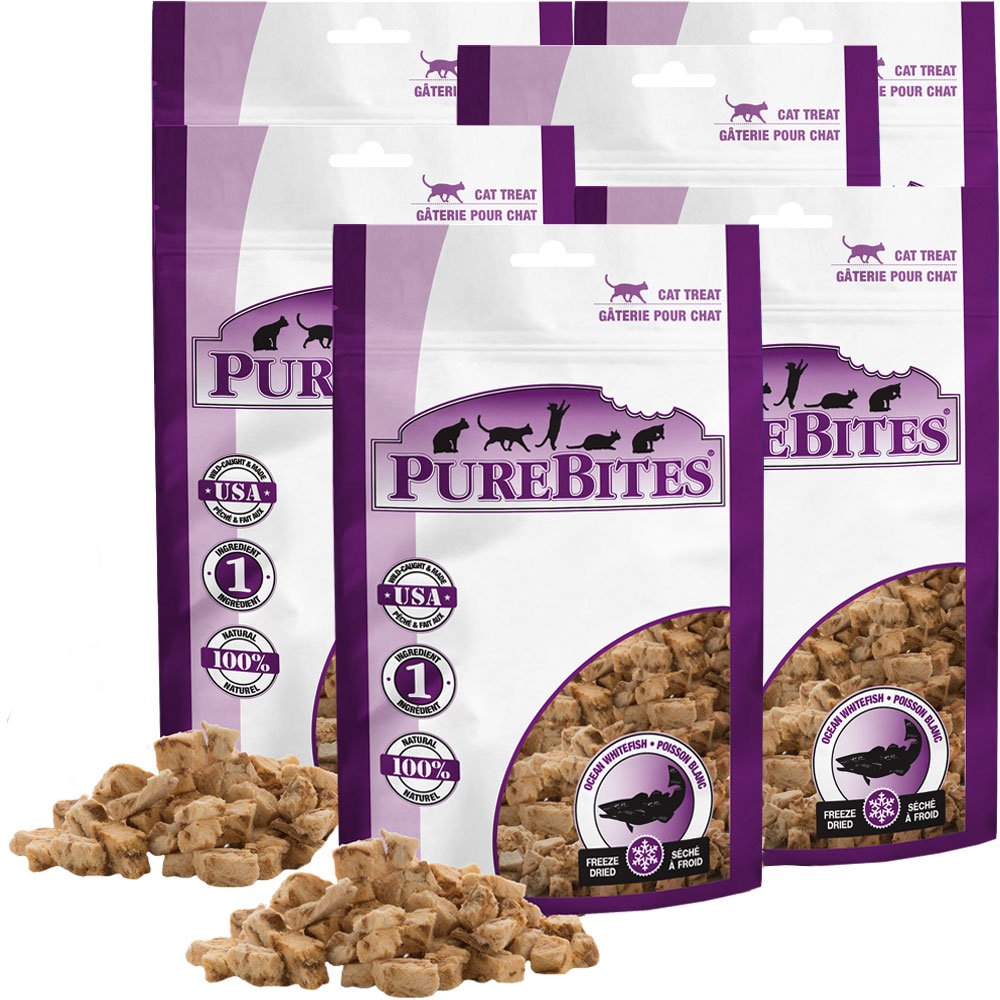Purebites Ocean Whitefish Cat Treat - 6 PACK (2.34 oz) im test