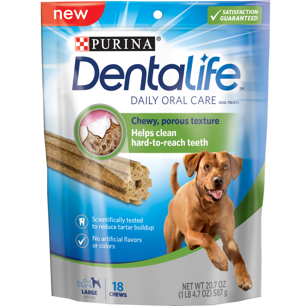 Purina Dentalife Oral Care Dog Treats - Large 20.7 oz (18 Chews) im test