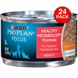 Purina Pro Plan Focus - Balance Energy Canned Adult Cat Food (24x3oz)