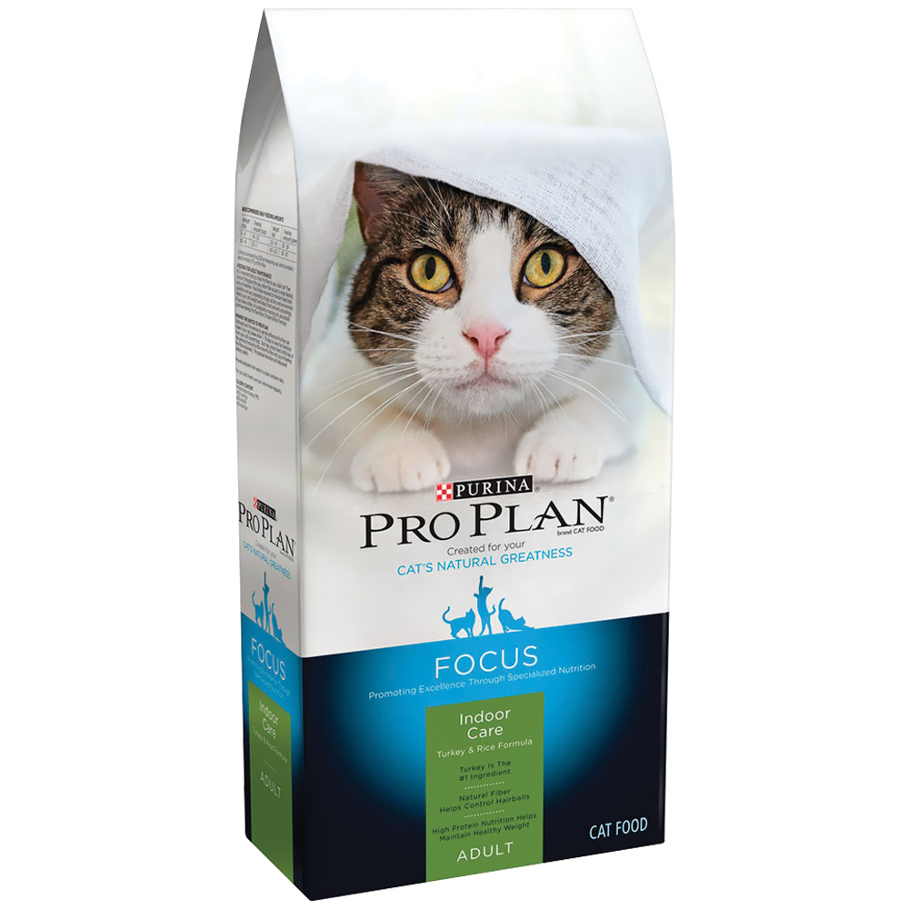 Purina Pro Plan Focus - Indoor Care Turkey & Rice Dry Adult 11+ Cat Food (7 lb) im test