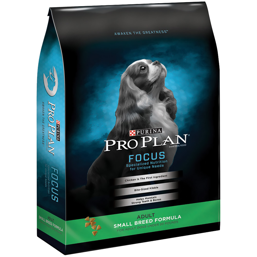 Purina Pro Plan Focus - Adult Small Breed Dry Dog Food (18 lb) im test