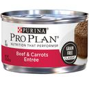 Purina Pro Plan Classic Grain Free - Beef & Carrots Entrée Canned Adult Cat Food (24x3oz)