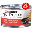 Purina Pro Plan Savor - Chicken Entrée with Tomatoes Canned Adult Cat Food (24x3oz)
