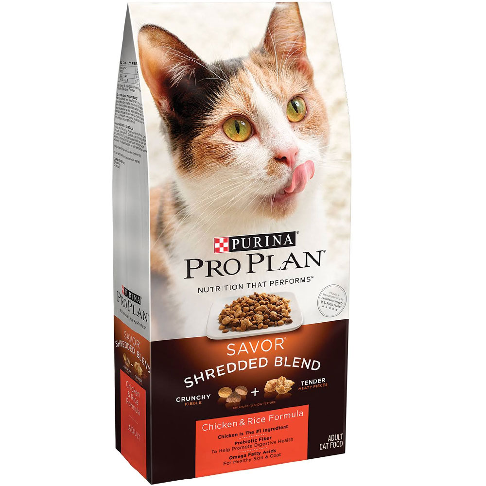 Purina Pro Plan Savor - Chicken & Rice Adult Cat Food (7 lb) im test