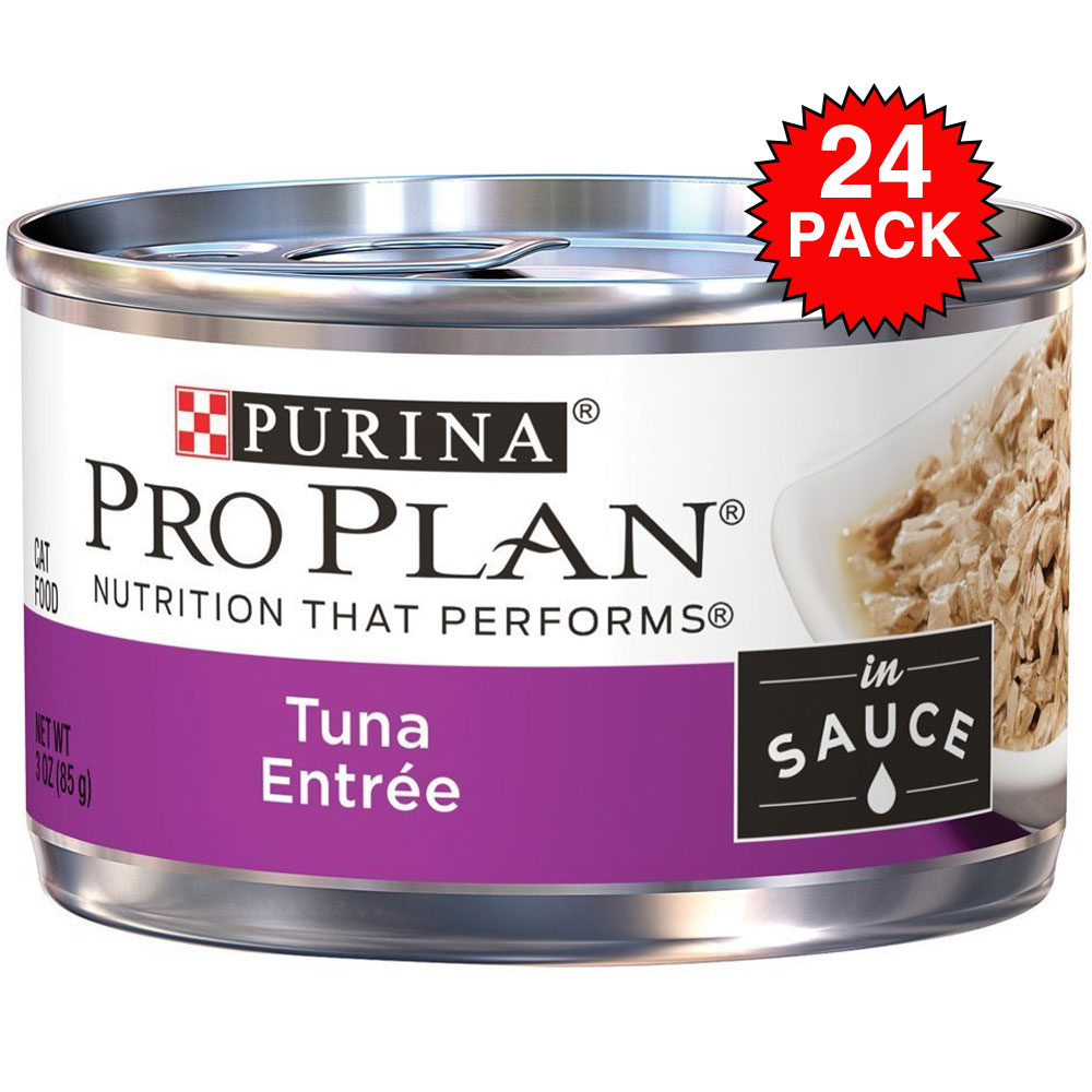Purina Pro Plan Savor - Tuna Entre In Sauce Canned Adult Cat Food (24x3 oz) im test