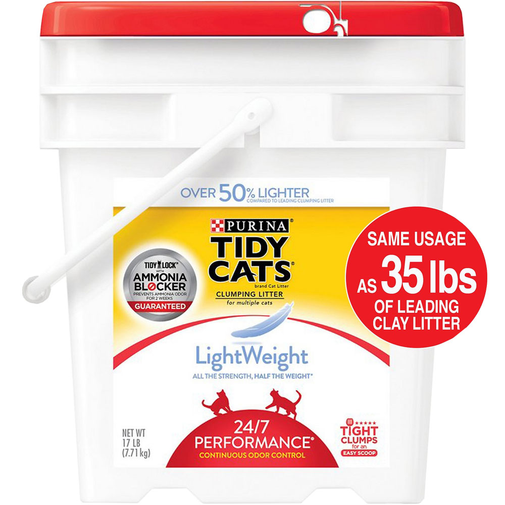 TIDY-CATS-PERFORMANCE-CLUMPING-CAT-LITTER-17LB