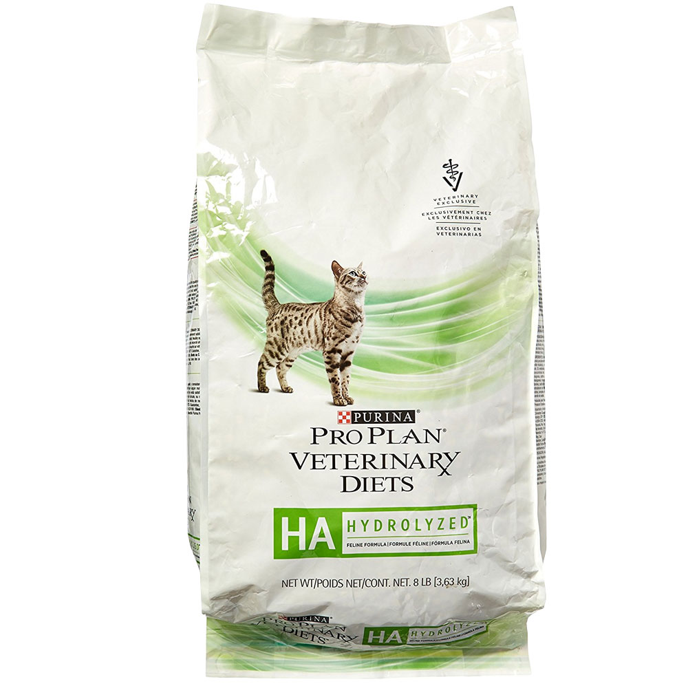 Purina Veterinary Diets Hypoallergenic Dry Cat Food 8 Lb On Sale Entirelypets