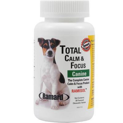 Ramard Total Calm & Focus Canine (30 Chewable Tablets)