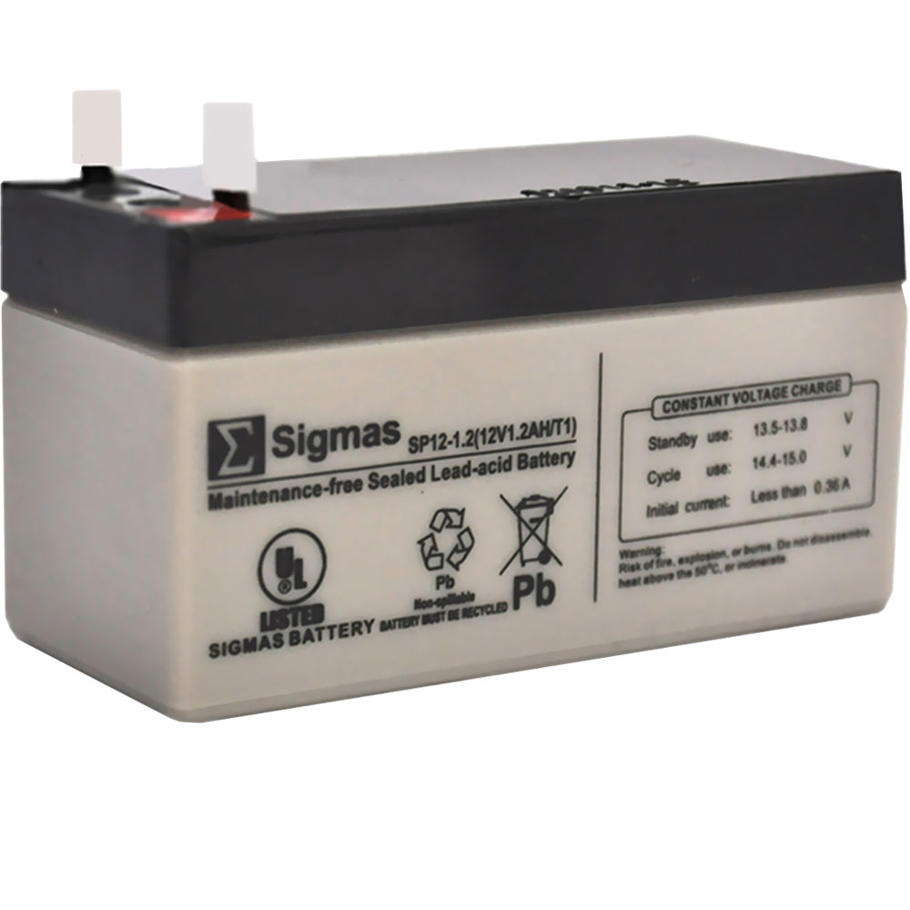 Image of Rechargeable Battery (12 volts, 1300 mAH)
