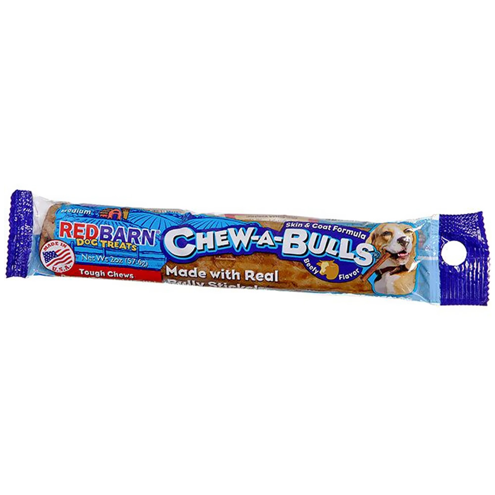 Redbarn Chew-A-Bulls Beef - Medium (2 oz) im test