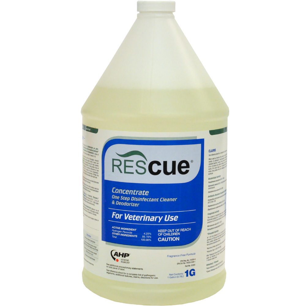 Rescue Disinfectant Concentrate - Gallon - from EntirelyPets