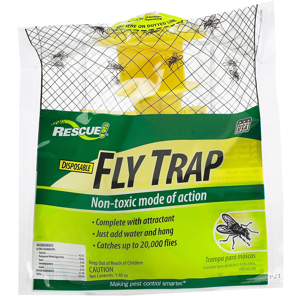 Rescue Disposable Fly Trap Non Toxic im test