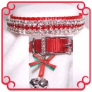 Rhinestone Dog Collars - Christmas Baby