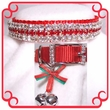 Rhinestone Dog Collars - Christmas Baby  (Small)