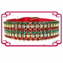 Rhinestone Dog Collars - Christmas Magic (Medium)