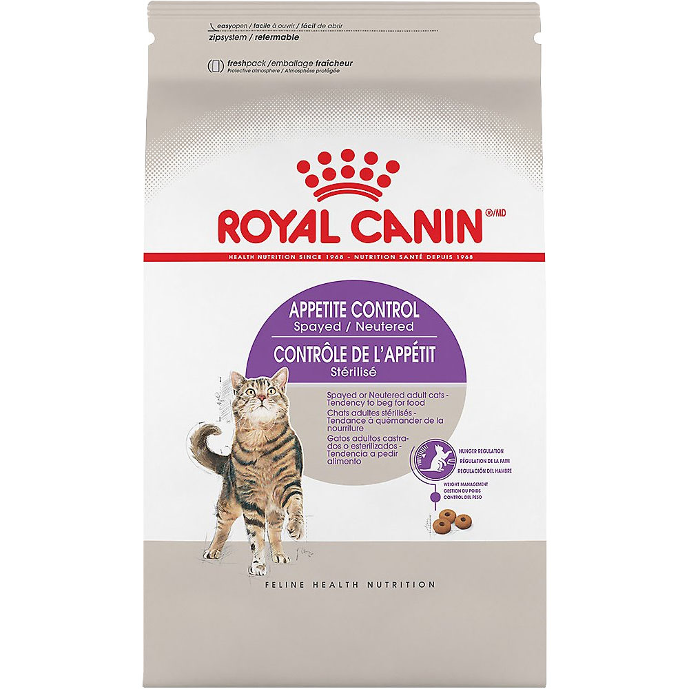 Royal Canin Appetite Control Spayed/Neutered Dry Cat Food (6 lb)
