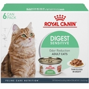 Royal Canin Digest Sensitive Thin Slices in Gravy Canned Cat Food (6x3 oz)