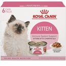 Royal Canin Kitten Thin Slices in Gravy Canned Cat Food (6x3 oz)