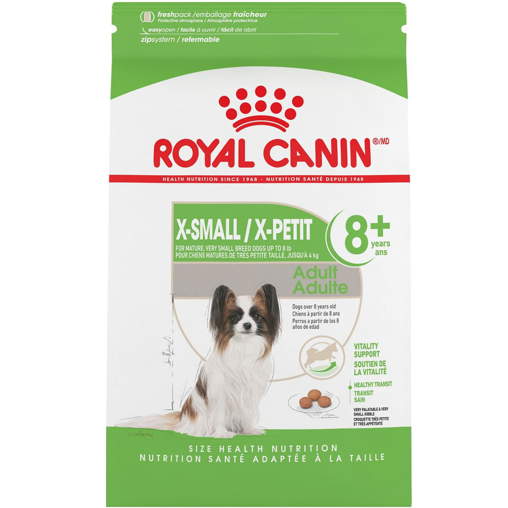 Royal Canin X-Small Mature 8+ Dry Dog Food (2.5 lb)