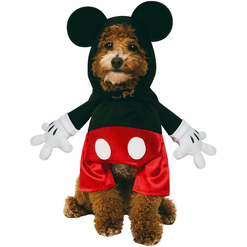 Image of Rubie's Mickey Mouse Step In Pet Costume - Small - For Dogs - from EntirelyPets