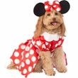 Rubie's Minnie Mouse Dress Pet Costume (Large)