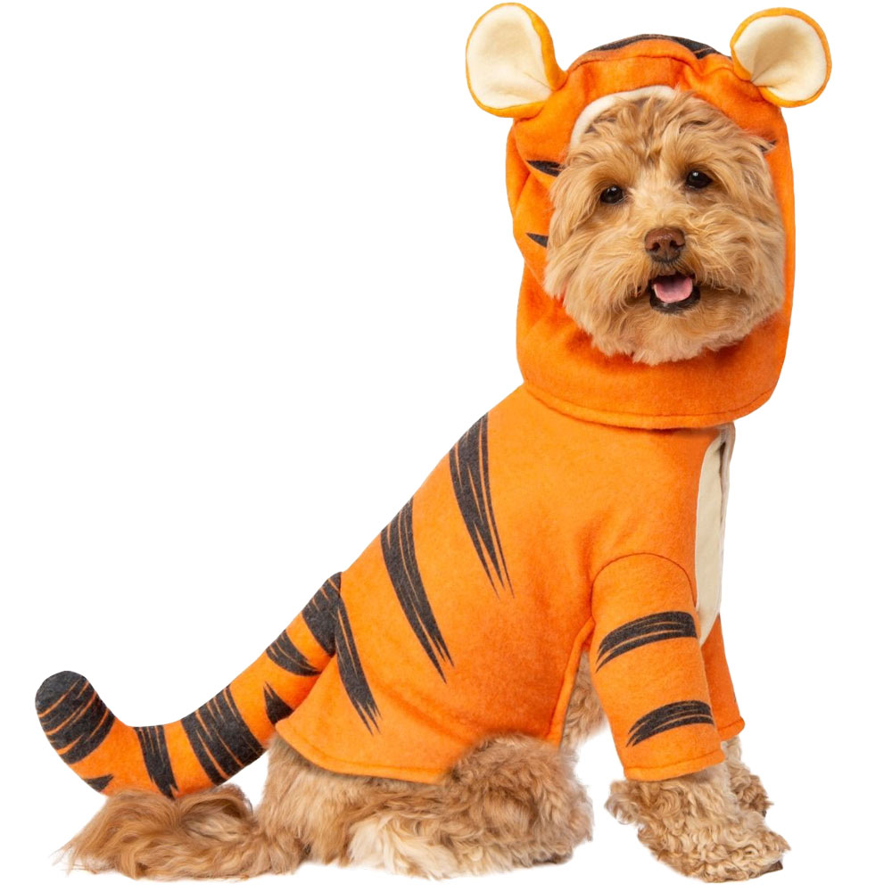 Image of Rubie's Tigger Pet Costume - Large - For Dogs - from EntirelyPets