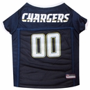 San Diego Chargers Dog Jersey - Small