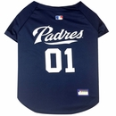San Diego Padres Dog Jersey - Small