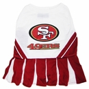 San Francisco 49ers Cheerleader Dog Dresses