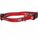San Francisco 49ers Dog Collars & Leashes
