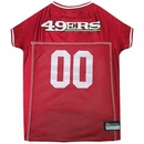San Francisco 49ers Dog Jersey - Small